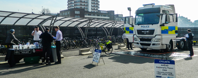 Cycle safety event