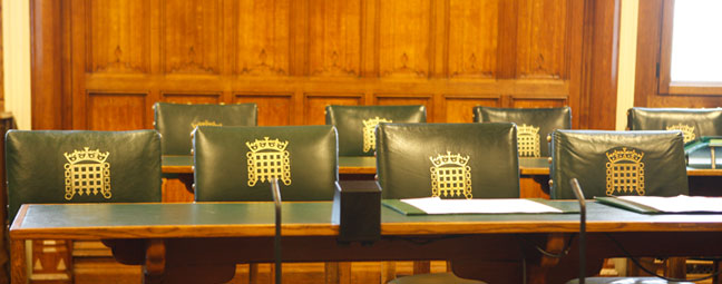 Chairs in Parliament