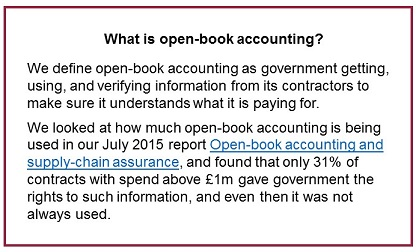 Open-book accounting dfn
