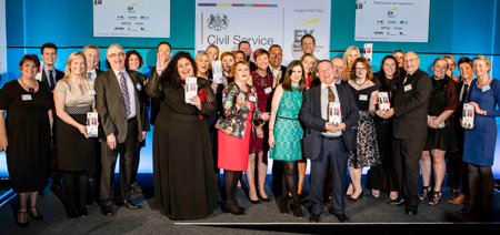 Civil Service Award winners