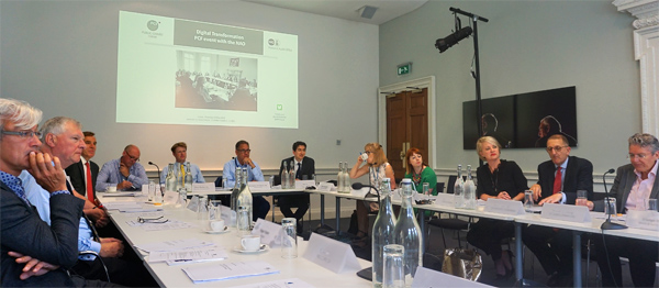 Photo of the Public Chairs Forum and NAO round-table discussion