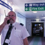 Security guard in hospital