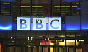 A BBC studio