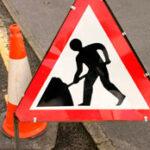 Men at work traffic sign