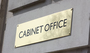 Cabinet Office building sign