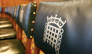 Chairs with portcullis emblem