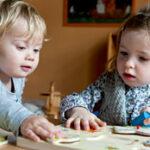 Toddlers in Nursery