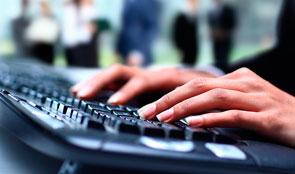 Keyboard typing