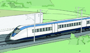 Drawing of HS2