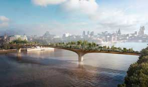 Garden Bridge mock-up