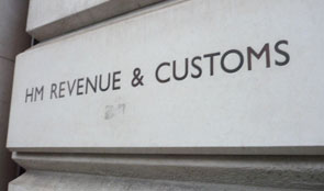 Revenue & Customs sign