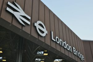 Entrance sign, London Bridge