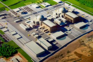 Hinkley Point C Power Station - artists impression