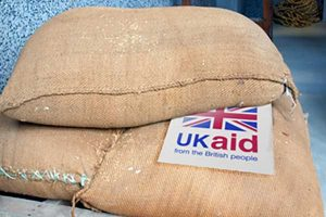 Food sacks for UKaid