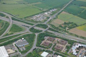 Aerial photo of Peterborough