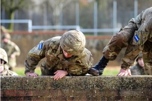Army assult course