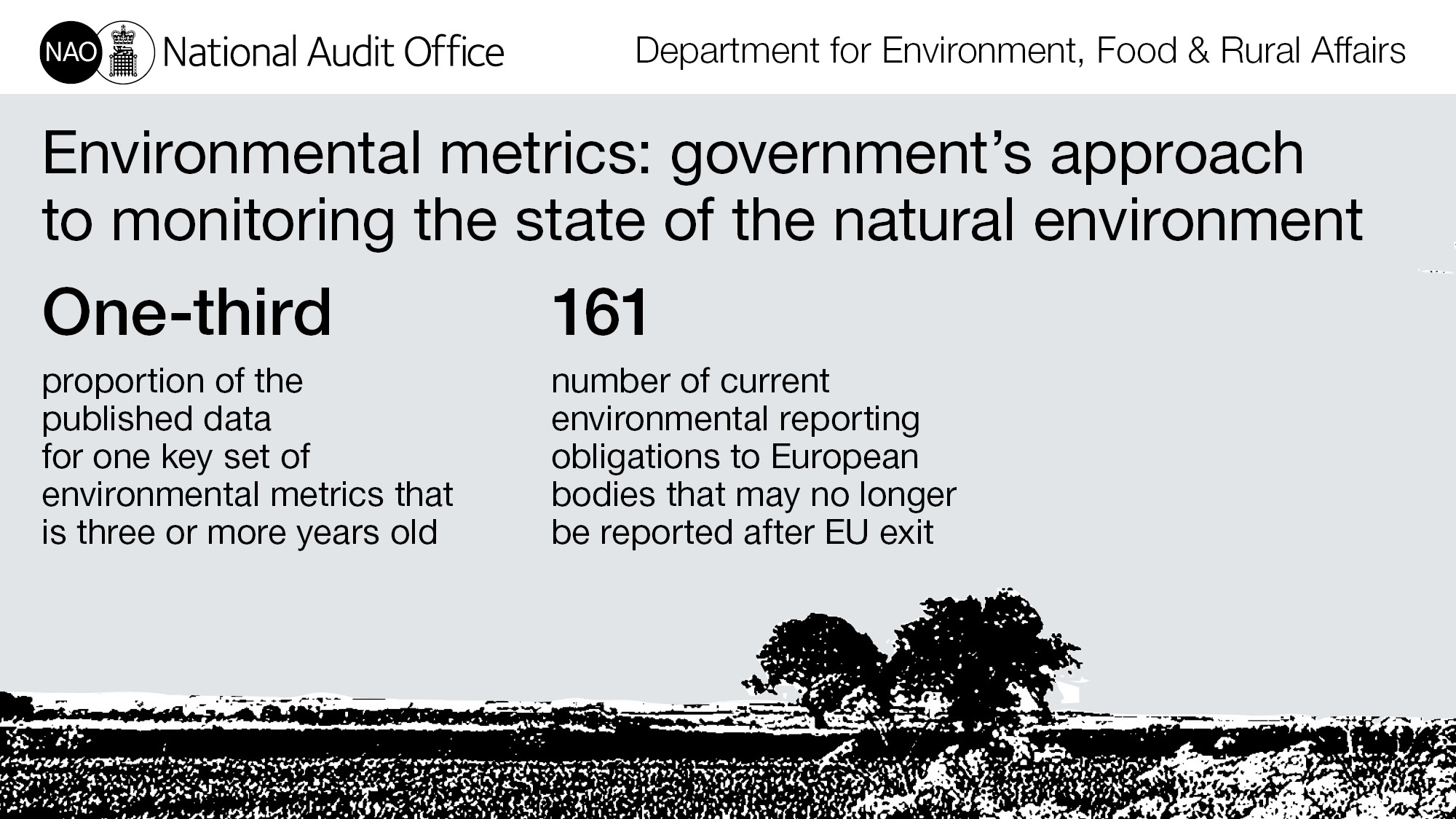 Environmental metrics: government's approach to monitoring