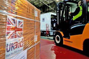 UKaid cargo