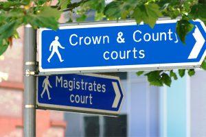 Landing Page Transforming Courts