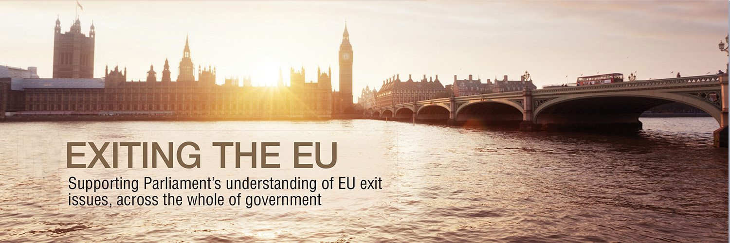 Exiting the EU homepage banner