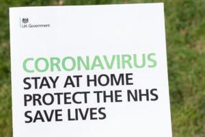 Coronavirus stay at home statement