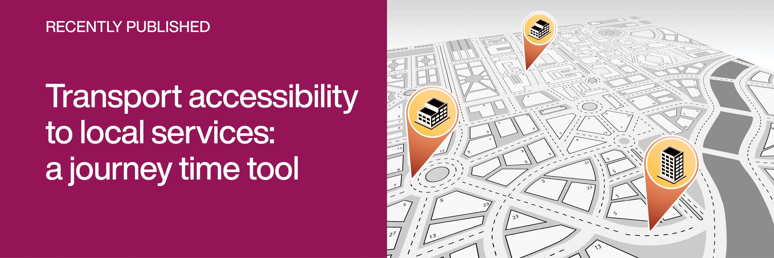 Link to Transport accessibility to local services: a journey time tool
