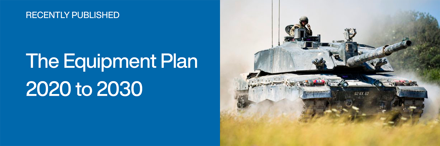 Recently Published: The Equipment Plan 2020-2030