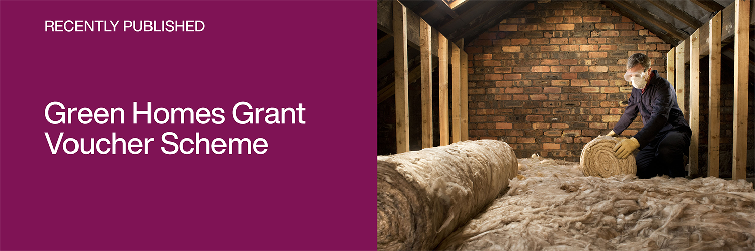 New report published: Green Homes Grant Voucher Scheme