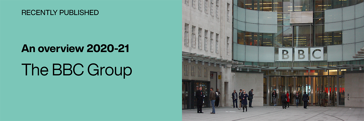Recently Published: Departmental Overview 2020-21: The BBC Group